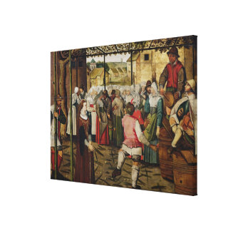 The Rustic Dance Canvas Print