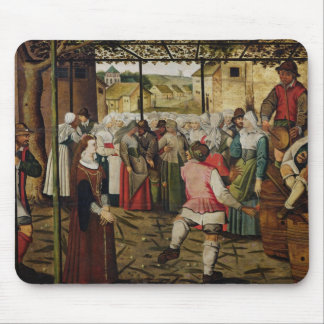 The Rustic Dance Mouse Pad