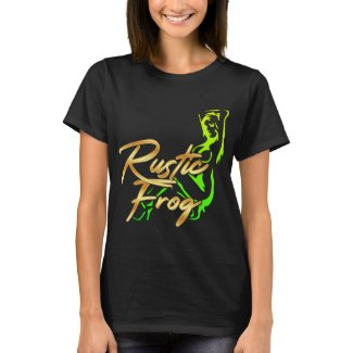 The Rustic Frog Woman T's T-Shirt