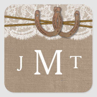 The Rustic Horseshoe Wedding Collection Seals