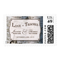 The Rustic Silver Birch Tree Wedding Collection Postage