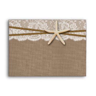 Invitation_Republic The Rustic Starfish Beach Wedding Collection Envelope