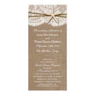 The Rustic Starfish Wedding Collection Programs