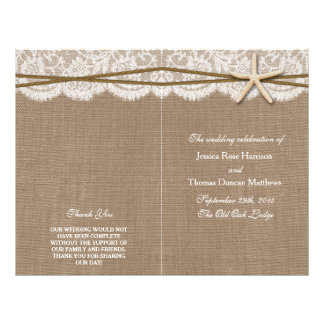 The Rustic Starfish Wedding Collection Programs