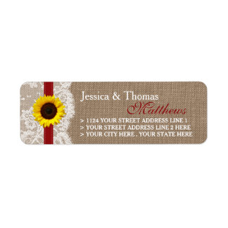 The Rustic Sunflower Wedding Collection - Red Label