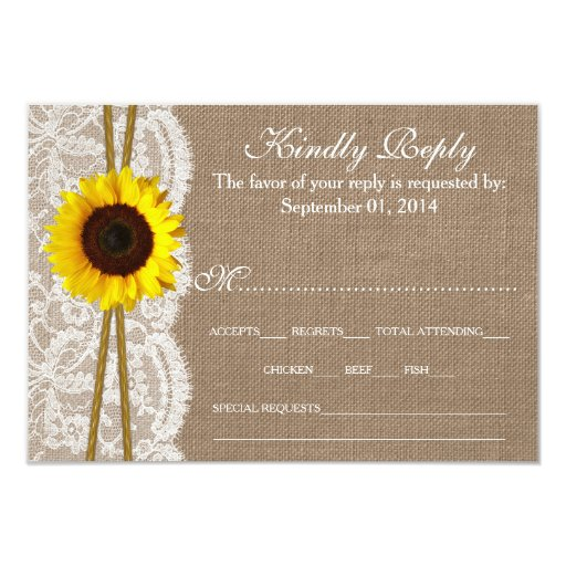 The Rustic Sunflower Wedding Collection...