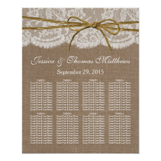 The Rustic Twine Bow Wedding Collection Poster