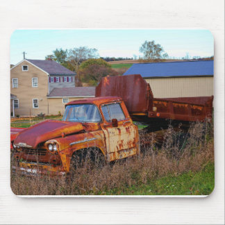 The Rusting Dump Truck Mouse Pad