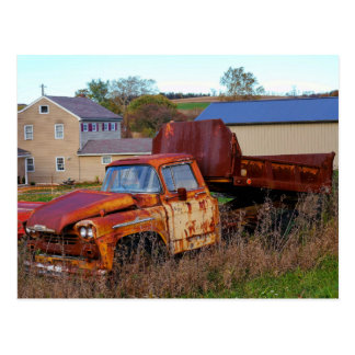The Rusting Dump Truck Post Cards