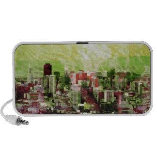 the rusty city greens mini speakers