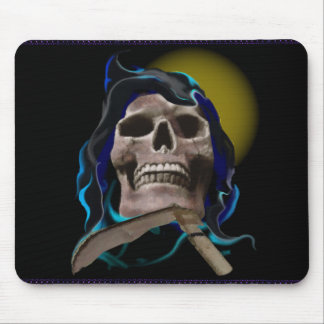 The Rusty Skull mousepad