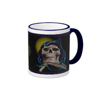 The Rusty Skull mugs
