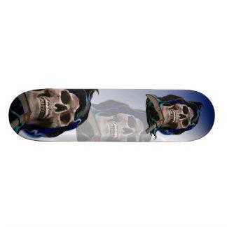 The Rusty Skull Skateboard