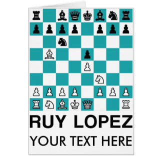 The Ruy Lopez Card