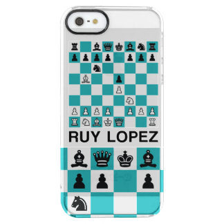 The Ruy Lopez Clear iPhone SE/5/5s Case