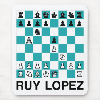 The Ruy Lopez Mouse Pad