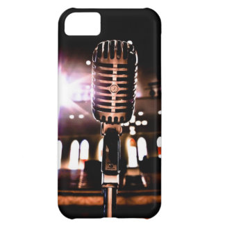 The Ryman Auditorium Microphone Nashville Tennesse Cover For iPhone 5C