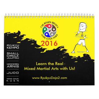 The Ryukyu Dojo II 2016 Calendar
