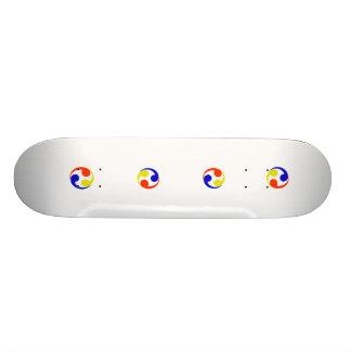 the Ryukyu Kingdom Japan Skate Deck