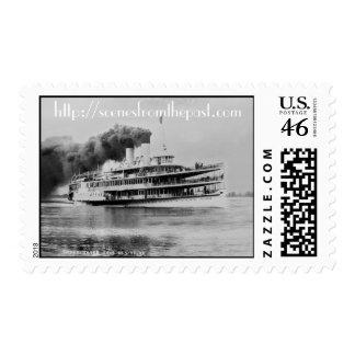 The S.S. Tashmoo Postage Stamp