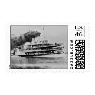 The S.S. Tashmoo Postage Stamps