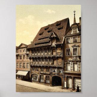 The Sack House, Brunswick (i.e., Braunschweig), Ge Print