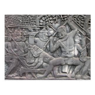 The Sack of Angkor Postcard