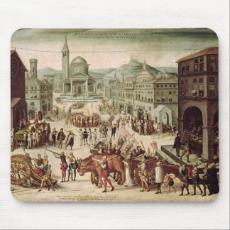 The Sack of Lyons by the Baron des Adrets Mouse Pad
