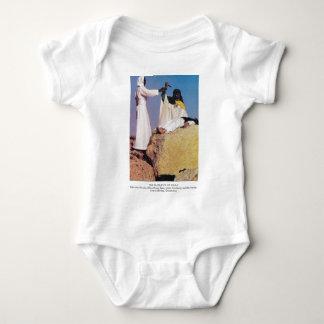 the sacrafice of issac baby bodysuit