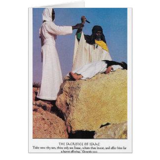 the sacrafice of issac card