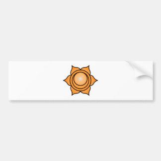 The Sacral Chakra Bumper Sticker