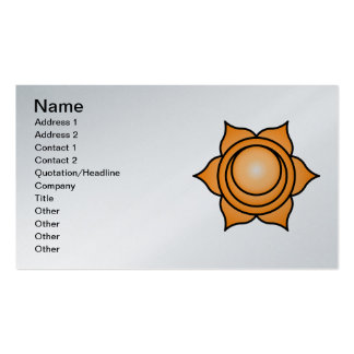 The Sacral Chakra Double-Sided Standard Business Cards (Pack Of 100)
