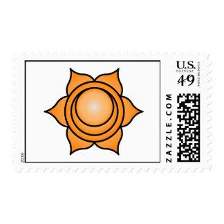 The Sacral Chakra Stamp