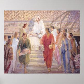 The Sacrament, 1950–51, Minerva Teichert (1888–197 Print