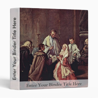 The Sacrament Of Marriage By Longhi Pietro Vinyl Binder