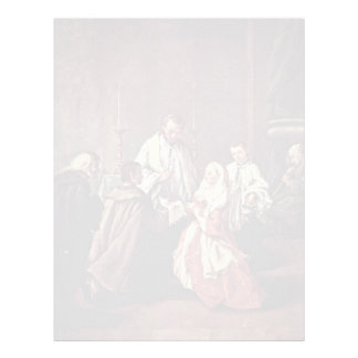 The Sacrament Of Marriage By Longhi Pietro Letterhead