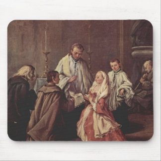 The Sacrament Of Marriage by Pietro Longhi Mouse Pad