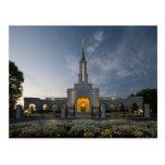 The Sacramento California LDS Temple Postcard