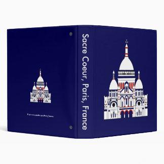 The Sacre Coeur, Montmartre, Paris, France Binder