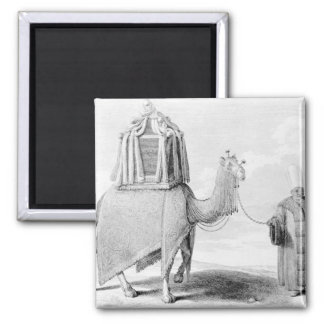 The Sacred Camel 2 Inch Square Magnet