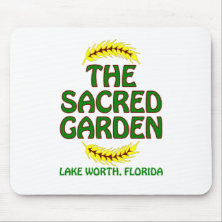 The Sacred Garden Mouse Pad