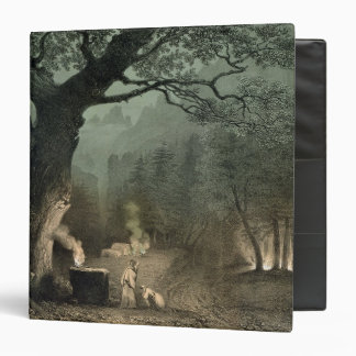 The Sacred Grove of the Druids 3 Ring Binder