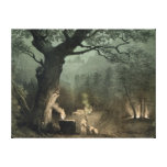 The Sacred Grove of the Druids Stretched Canvas Prints