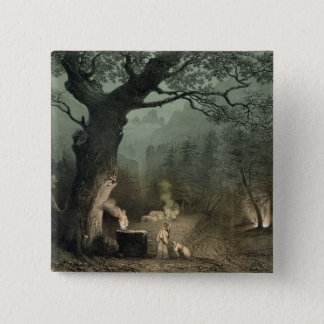 The Sacred Grove of the Druids Pinback Button