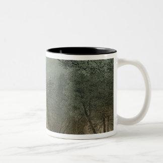 The Sacred Grove of the Druids Two-Tone Coffee Mug
