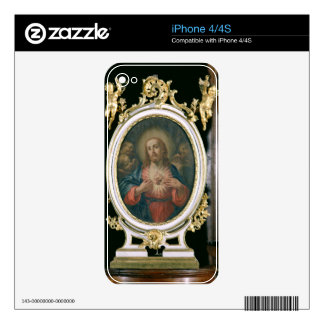 The Sacred Heart of Christ, from the Boarding Scho Decals For iPhone 4
