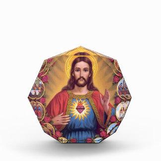 The Sacred Heart Of Jesus Acrylic Award
