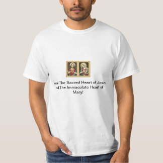 The Sacred Heart of Jesus and The Immaculate He... Tees