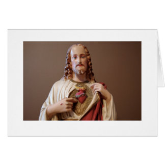 The Sacred Heart of Jesus Card