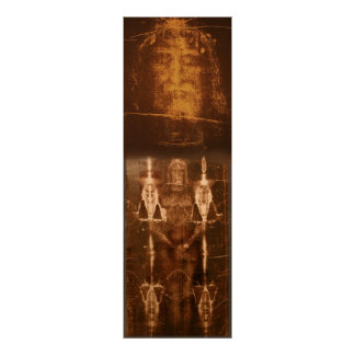 THE SACRED SHROUD OF TURIN POSTER